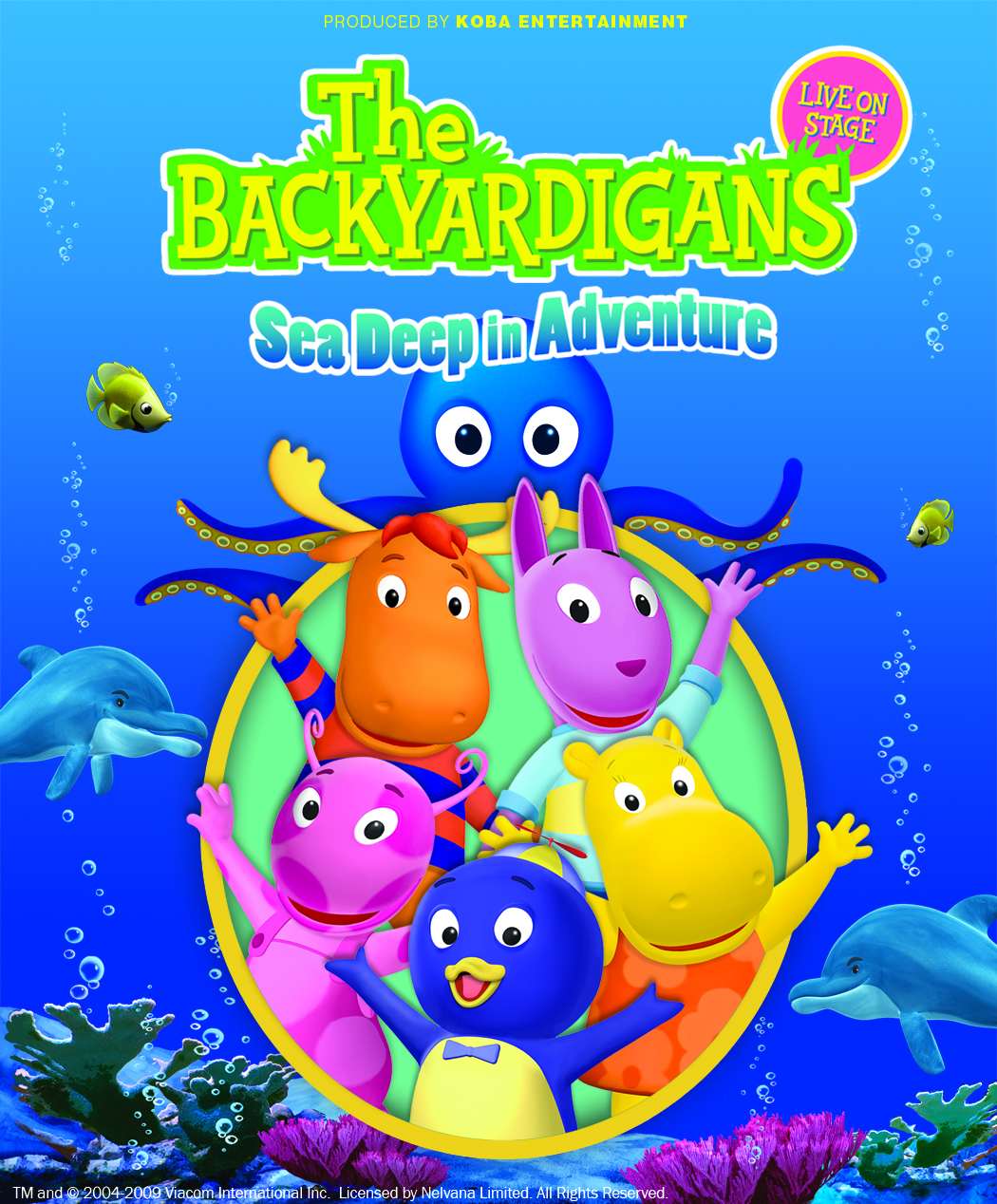 The Backyardigans Are Coming To Moncton And Dvd Prizepack Giveaway