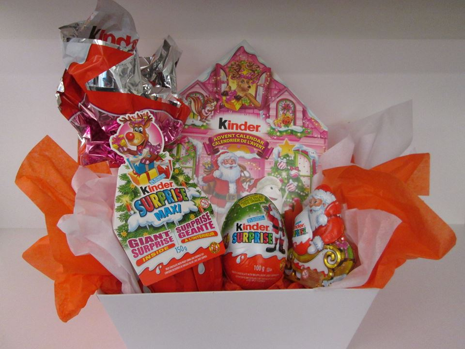 Kinder Prize Pack Giveaway Ends Nov 17 Can Only