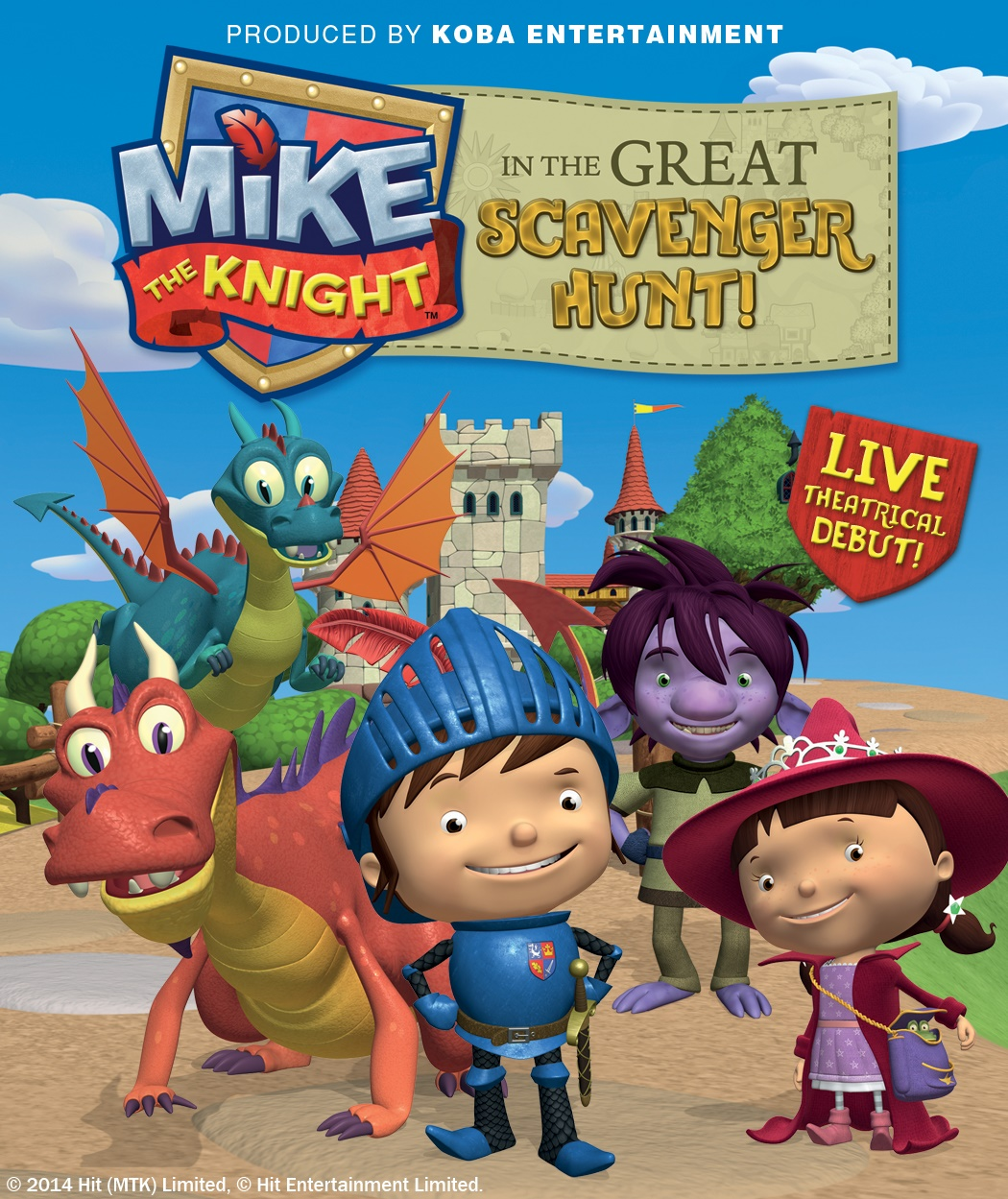 Mike The Knight Family Pack Of Tickets Giveaway