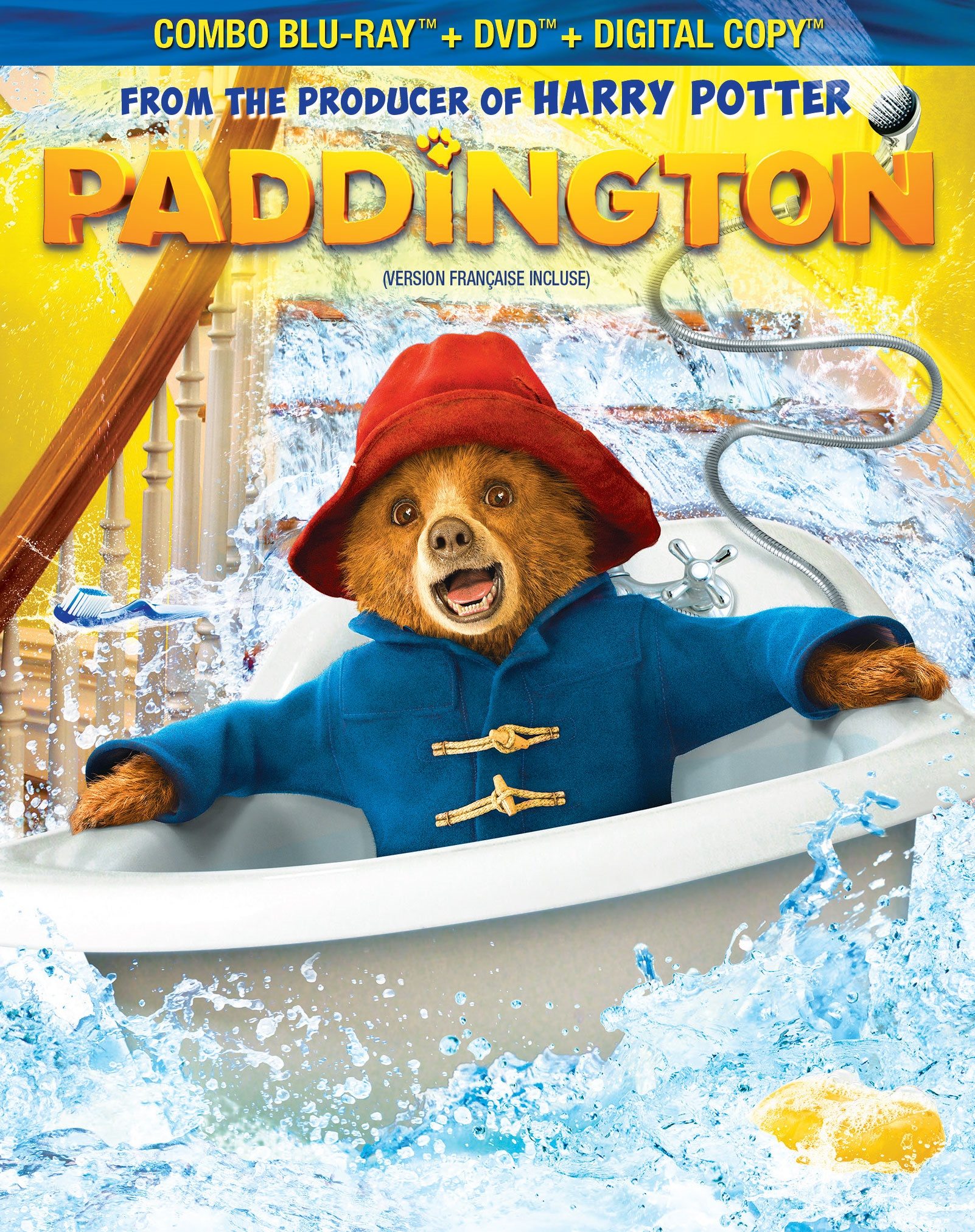 Paddington DVD And BluRay Review And Giveaway
