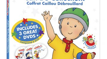 Caillou Can Do Collection Review And Giveaway