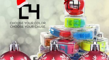 C4 Belts: Choose Your Colour, Choose Your Cause #GiftGuide #Giveaway