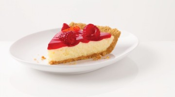 Quick And Easy Raspberry Glace Cheesecake Pie