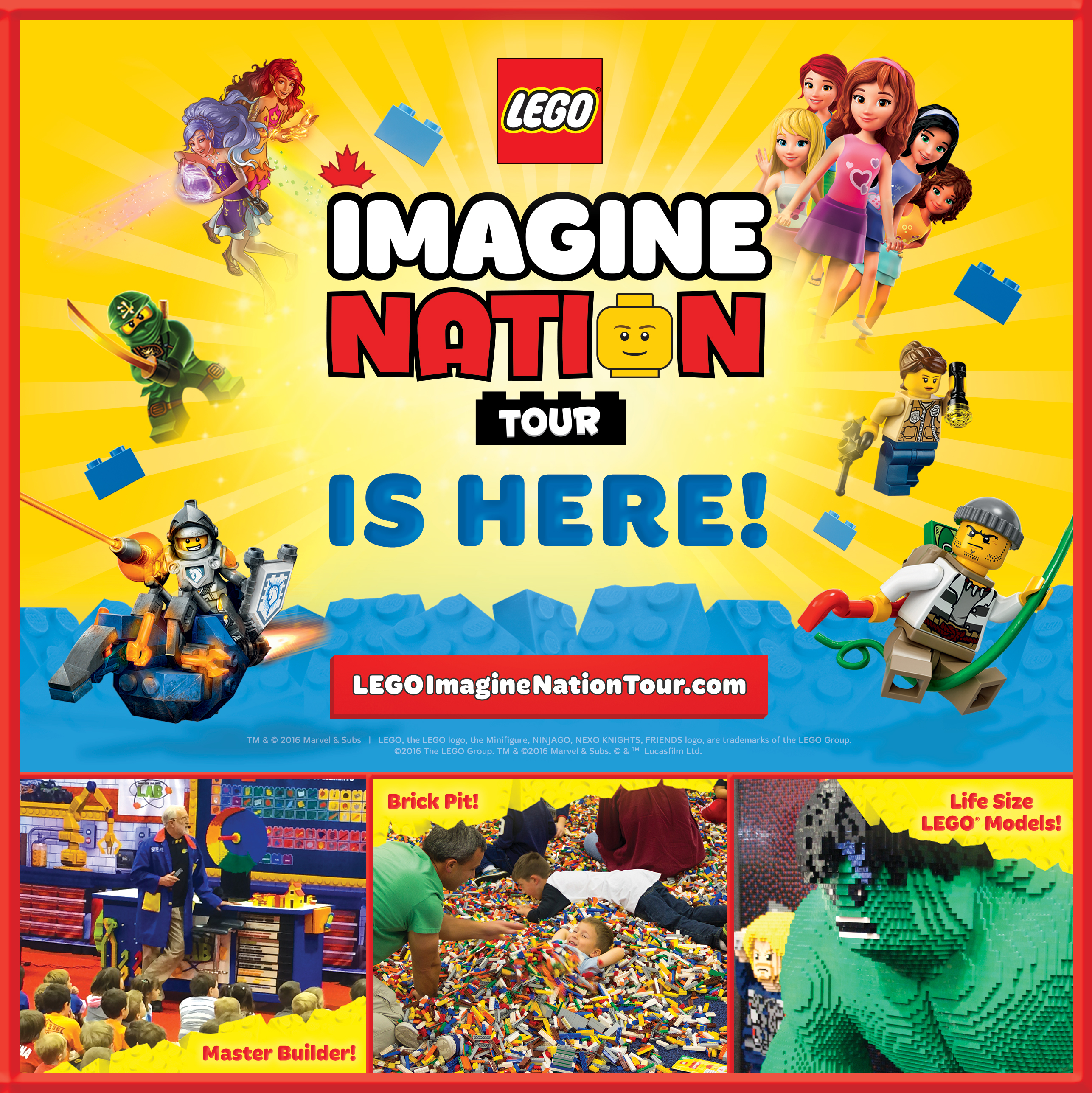 Lego Nation Tour 1