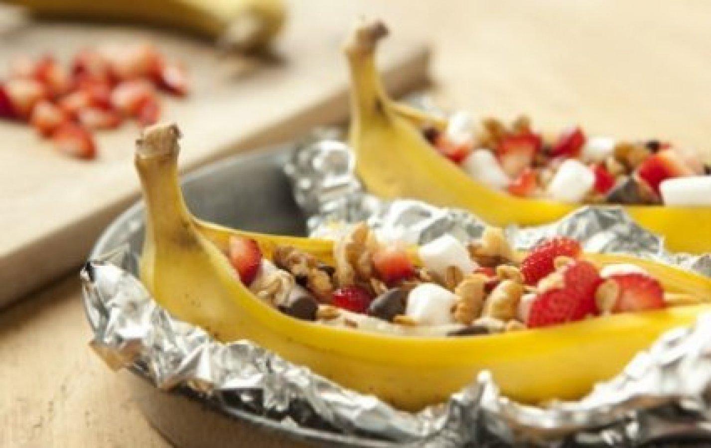 banana split, bananas split