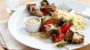 Cooking With Kabobs: Spring Turns To Summer & Stove Turns To Grill