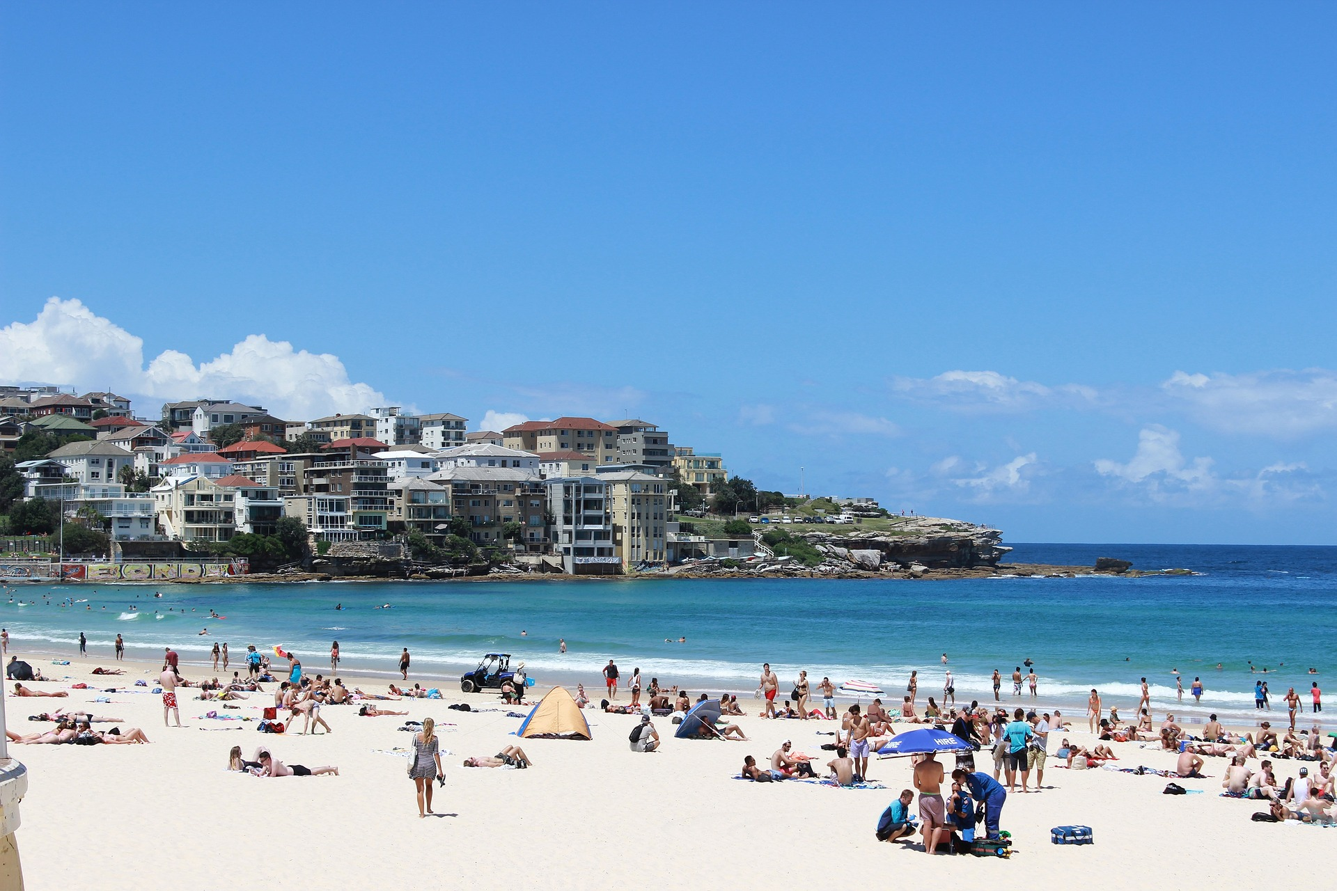 bondi beach honeymoon destination