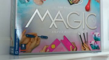 Magic: Silver Edition Teaches Kids The Fun Art of Illusion #GiftGuide