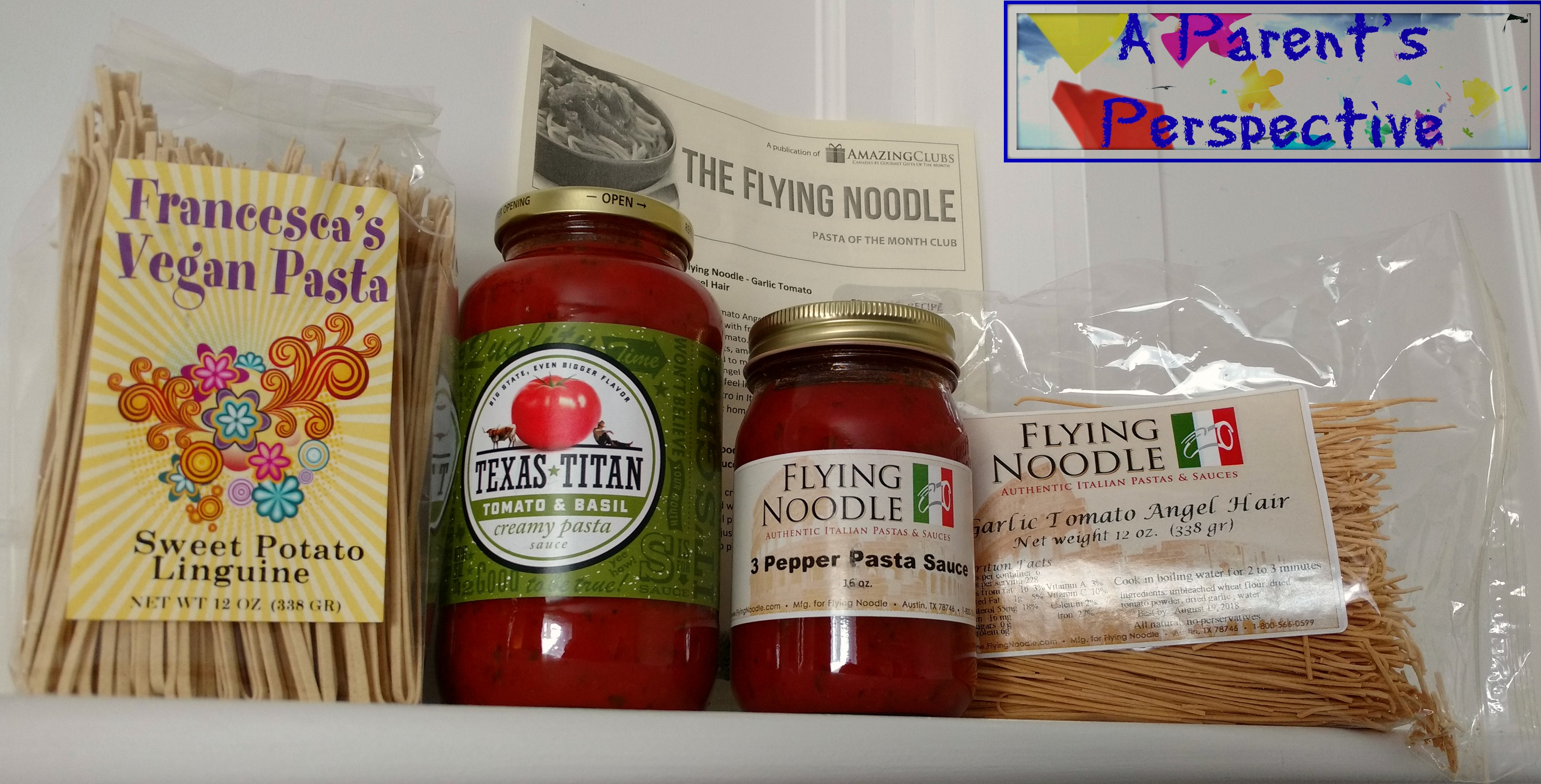 Pasta Subscription Box