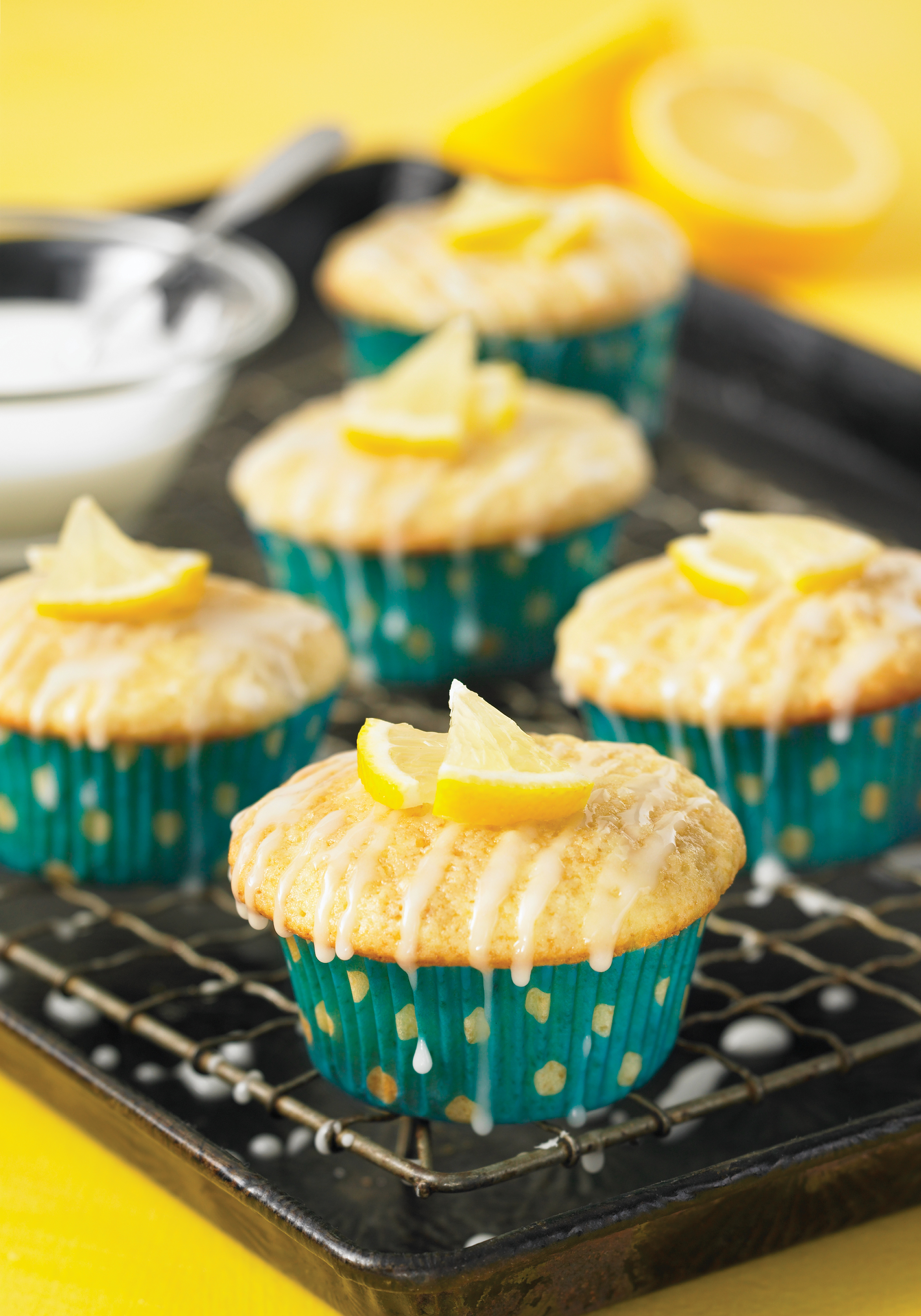 Pear Lemon Cupcakes