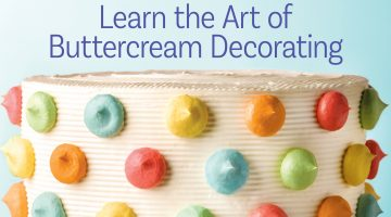 Learn The Art of Buttercream Decorating With Carey Madden