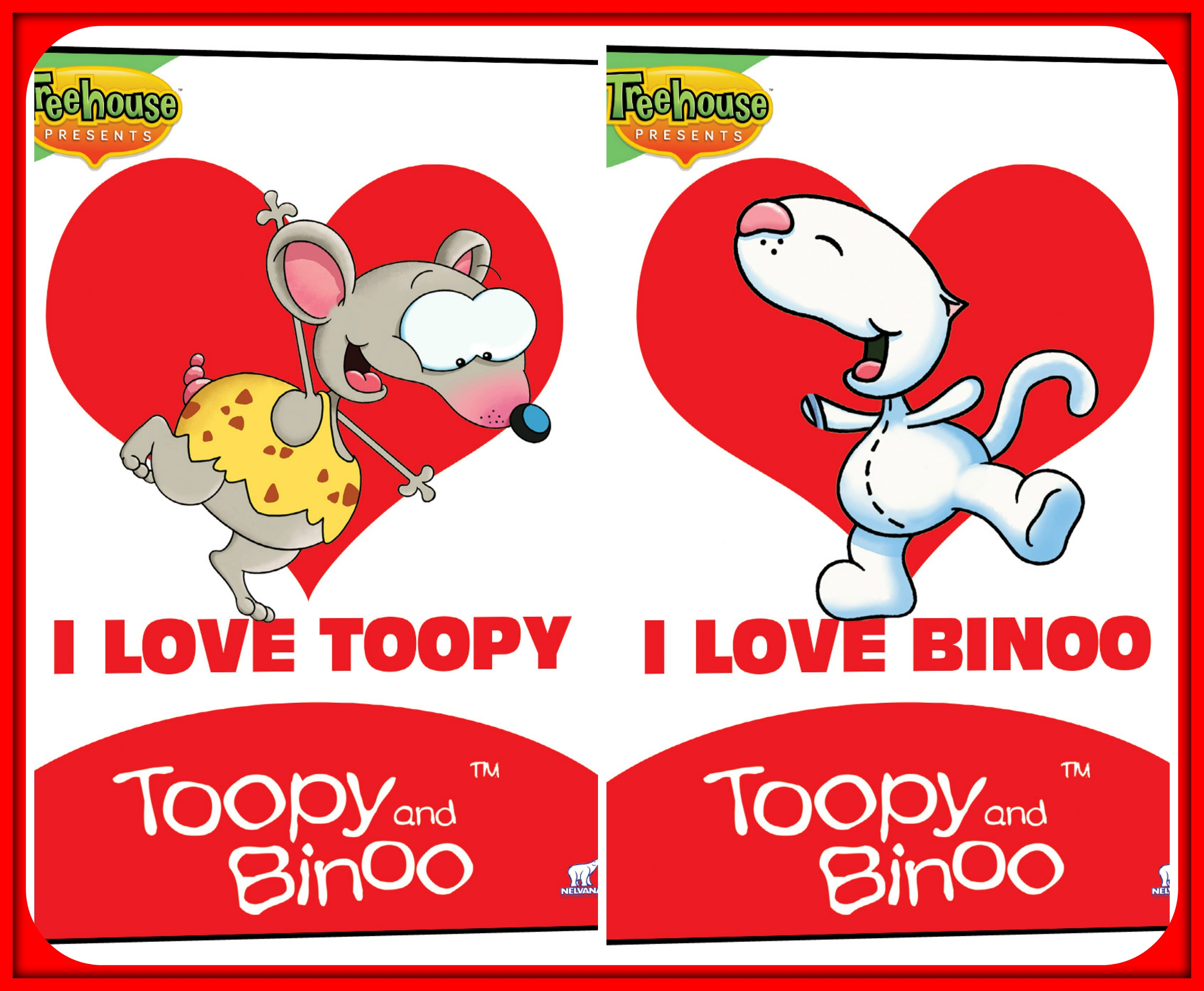 Celebrate Valentine S Day With Toopy And Binoo