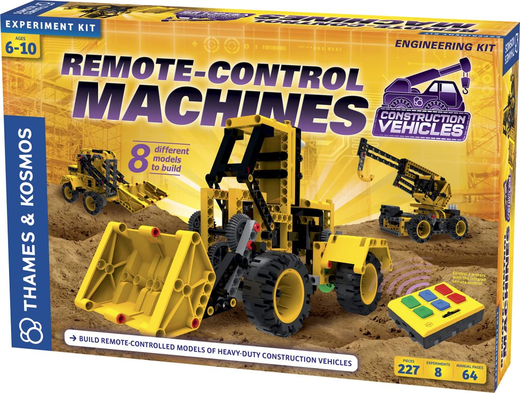 Remote Control Machines: Construction Vehicles