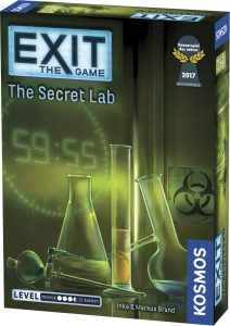 Exit The Game: The Secret Lab