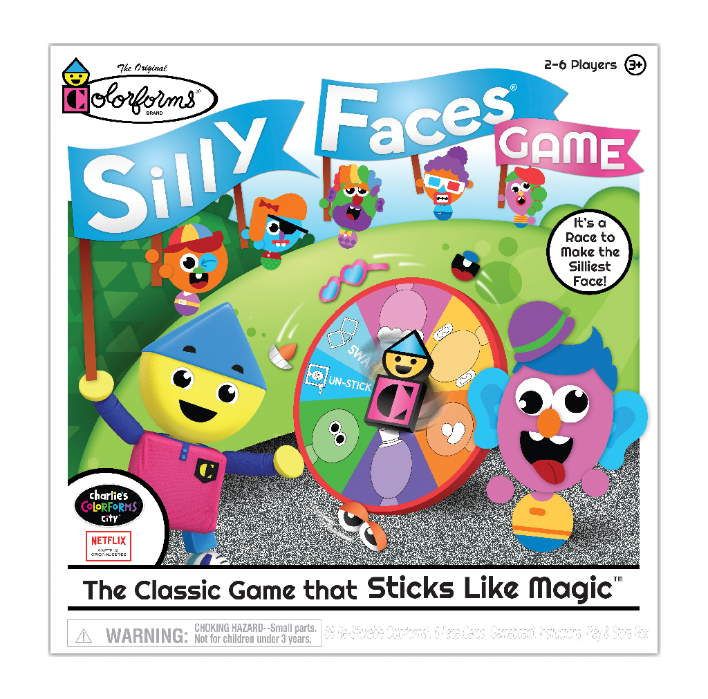 Silly Faces Game Colorforms