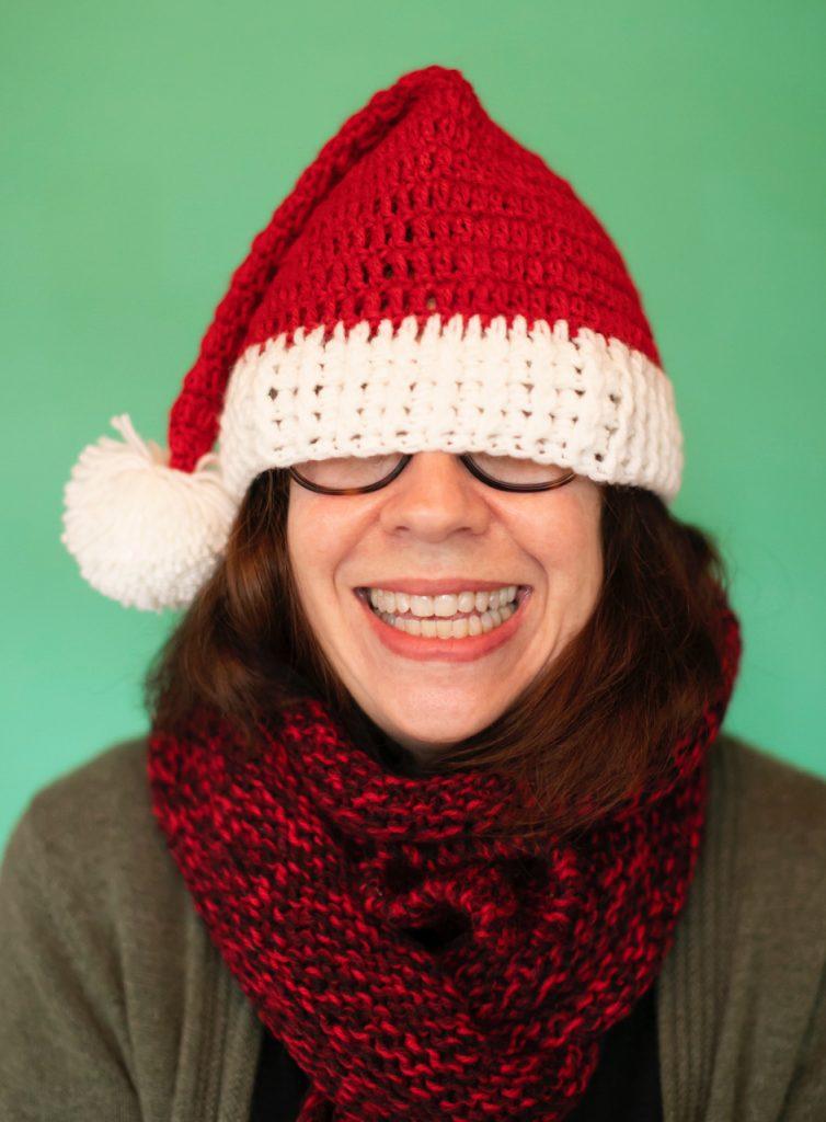 Amy Santa Hat