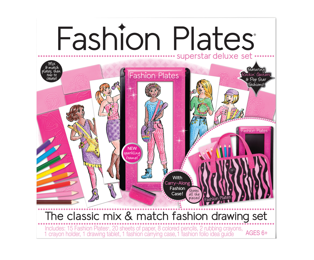 Fashion Plates Super Star