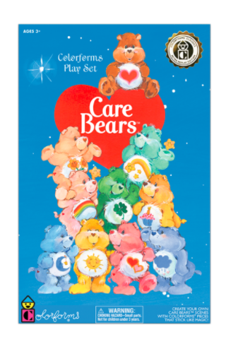 Care Bears Colorform Play Set